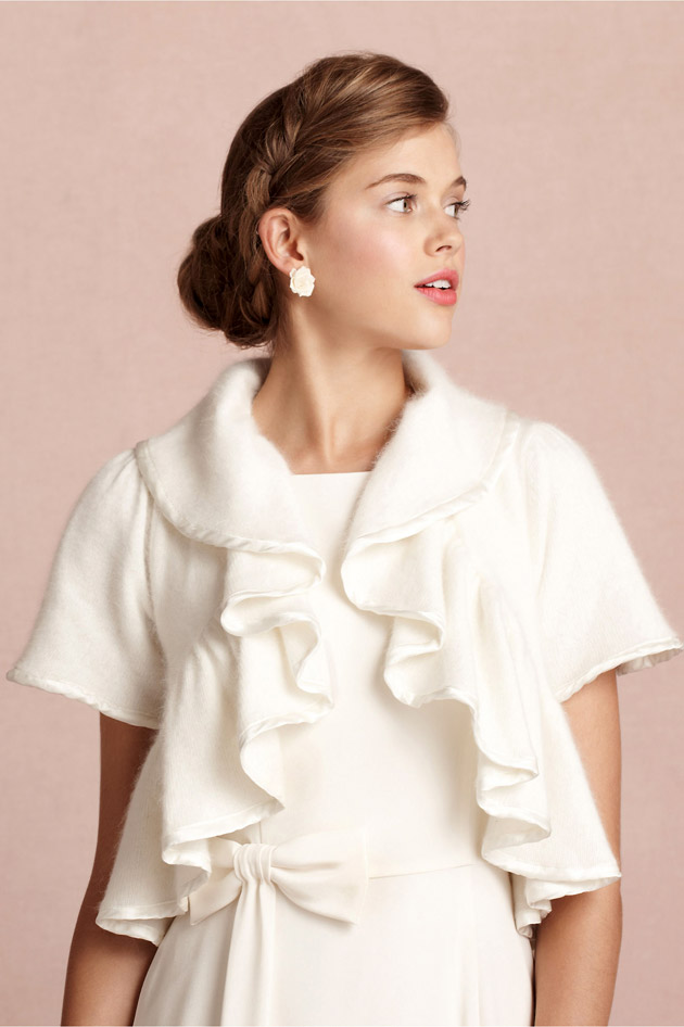 Foxtrot Bridal Shrug by BHLDN