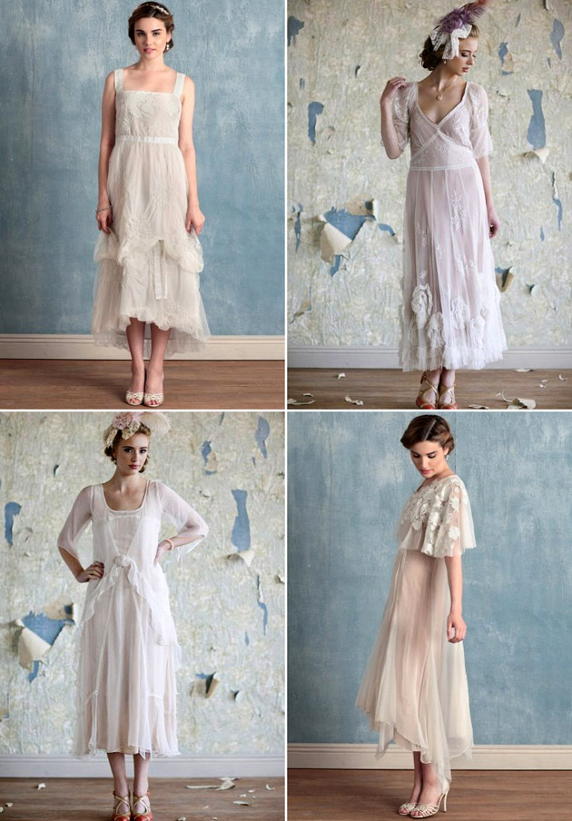 1920s Bridal and Bridesmaid Gowns by Ruche