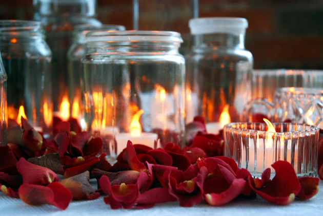 DIY Twinkle Jar Centrepieces
