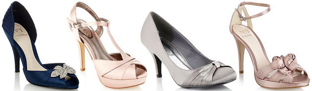 Bridesmaids Shoes by Debenhams