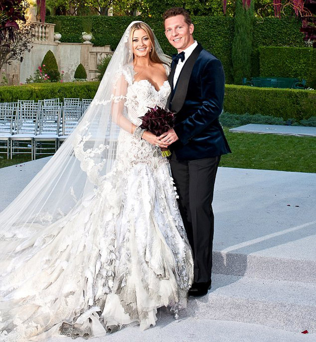 Holly Valance Wedding, Holly Valance with husband