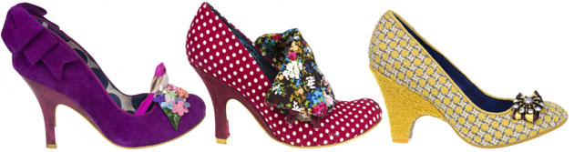 Bridesmaids Shoes by Irregular Choice