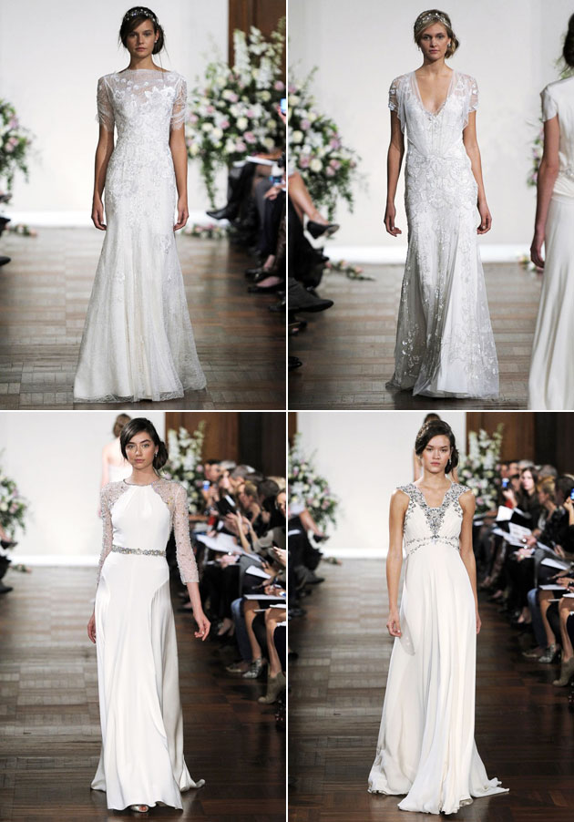 Jenny Packham Fall 2013 Bridal Collection