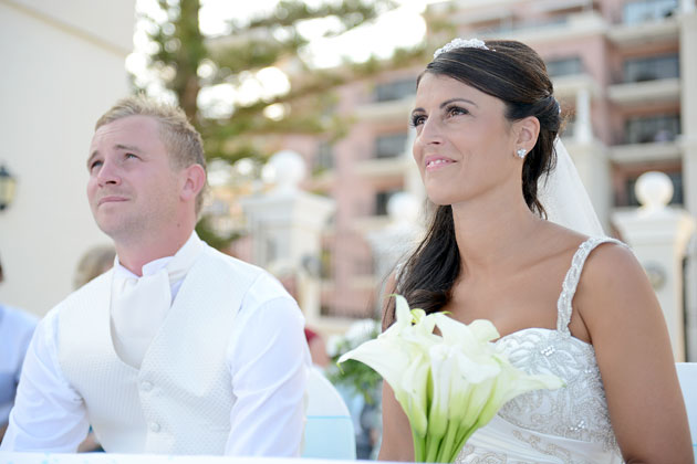 Nassim & Tom's Real Wedding by Sarah Young