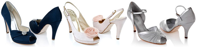 Bridesmaids Shoes by Rachel Simpson