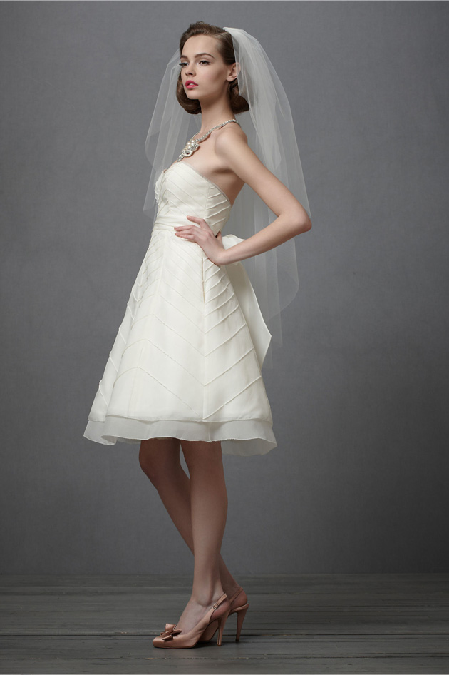 BHLDN Lively Chevrons Bridal Gown