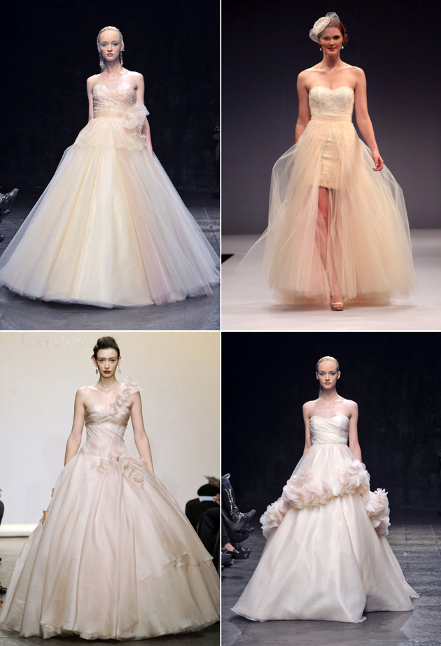 Blush Wedding Gowns Fall 2013