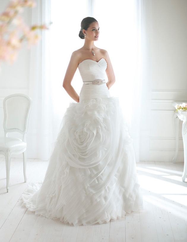 Boston Wedding Gown by Novia d'Art