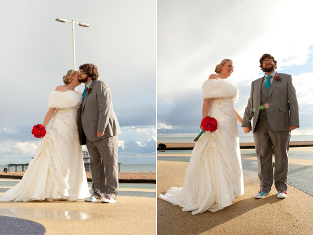 Carly & Rowan's Real Wedding in Brighton