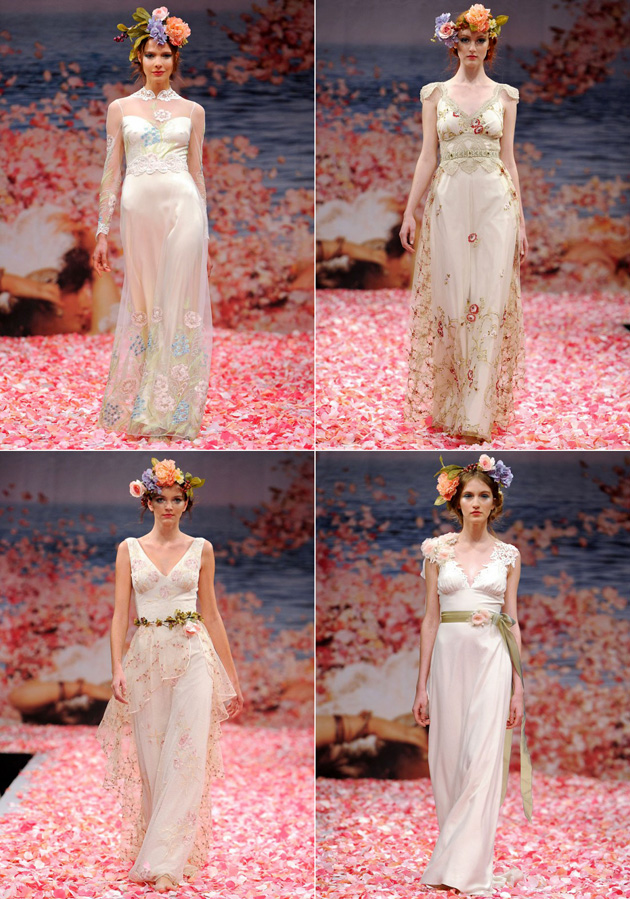 Claire Pettibone Wedding Gowns Fall 2013