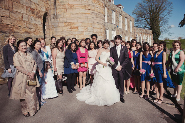Cho & Enio's Real Wedding by Rebecca Douglas