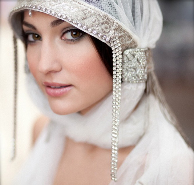 Bridal Hood by Etsy