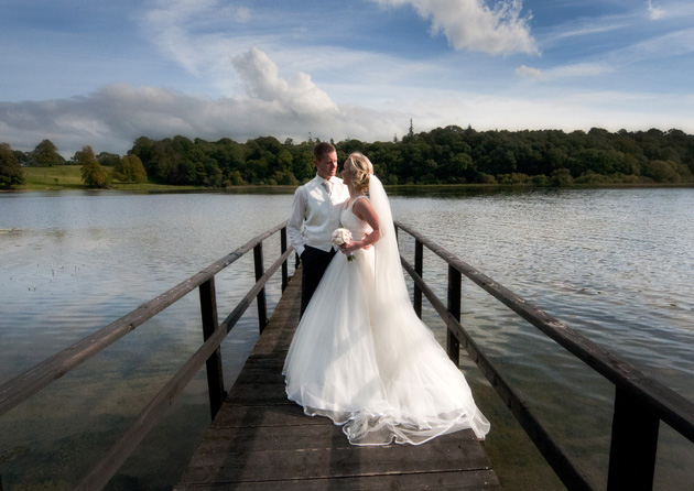 Alison & Paul's Real Wedding at Castle Leslie