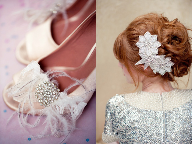 Shoe Clips & Hair Ornaments by Lo Boheme