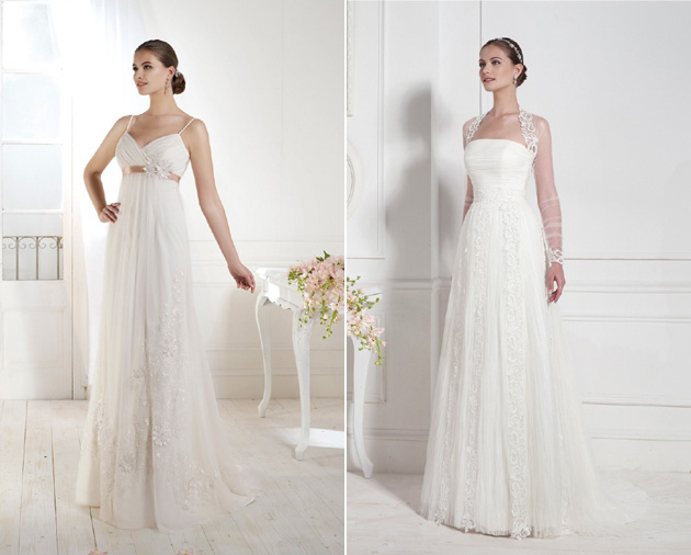 Malena & Victoria Wedding Gowns by Novia d'Art