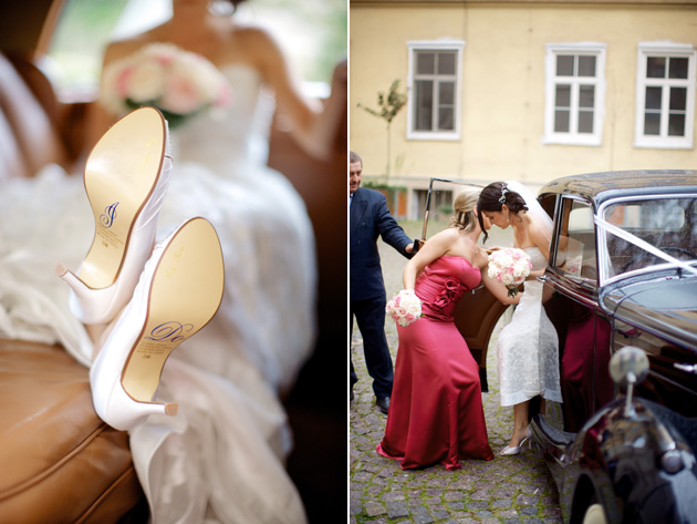 Monica & Jesse's Real Wedding by Exclusive Weddings in Prague