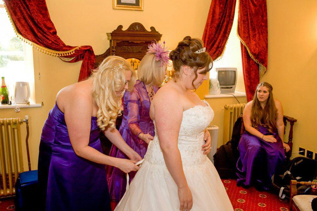 Natasha & Stephen's Real Wedding in Wales