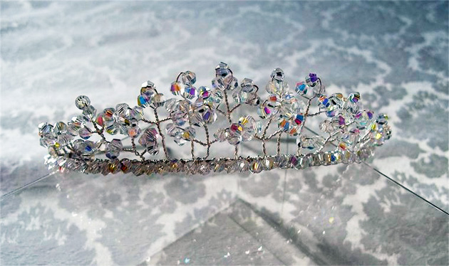 Bridal Tiara by Rebecca May