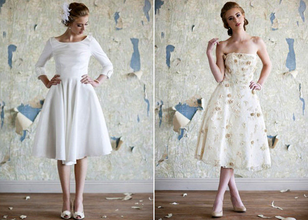 Ruche Bridal Gowns