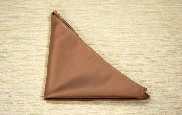 Wedding DIY Triangle Pocket Fold