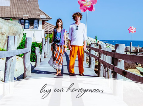 Buy Our Honeymoon from Confetti.co.uk