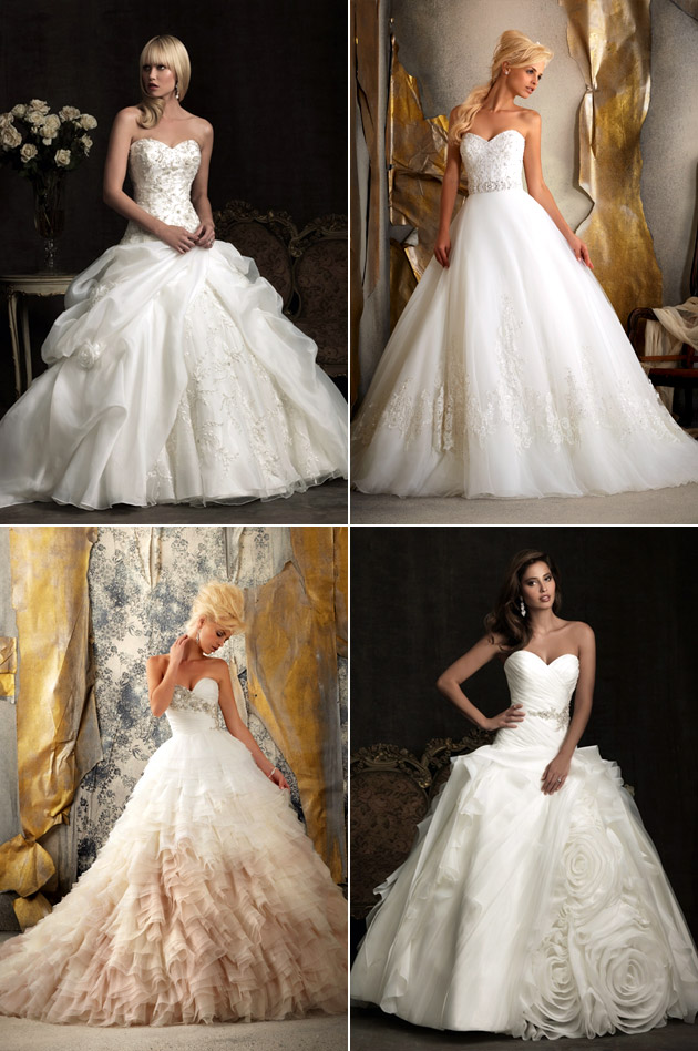 Ballgown Wedding Dresses by Mori Lee