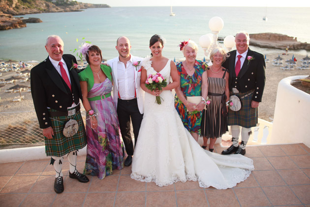 Donna & Paul's Real Ibiza Wedding by Ibiza Wedding Shop