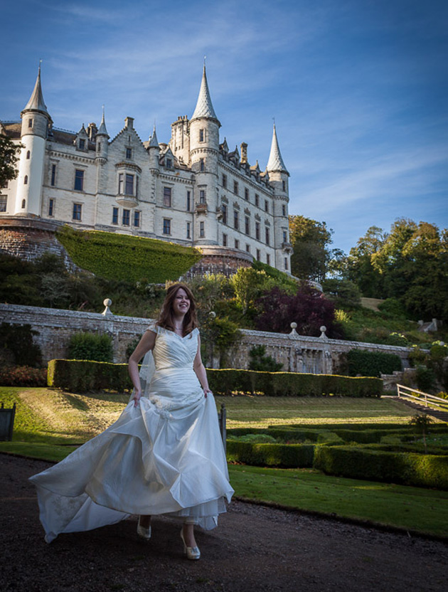 Wedding Gift Experiences Scotland : ... & Alistairs Champagne Castle Wedding in ScotlandConfetti.co.uk