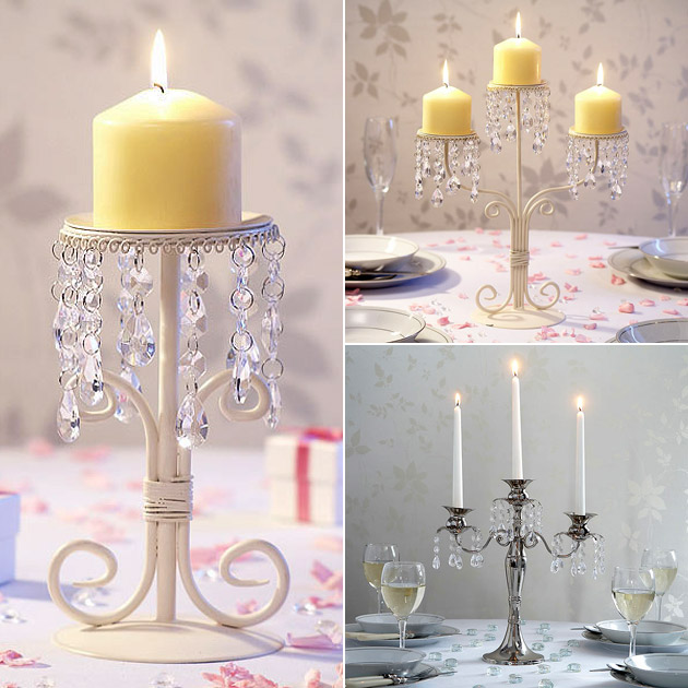 Centrepiece Single & Triple Candelabras