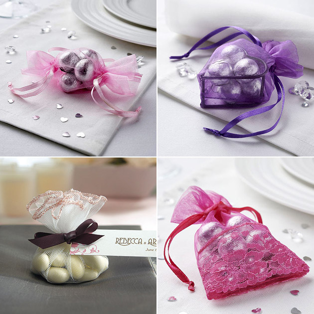 Favour Organza Tulle Bags