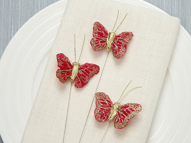 Decorative Glitter Butterfly Pack