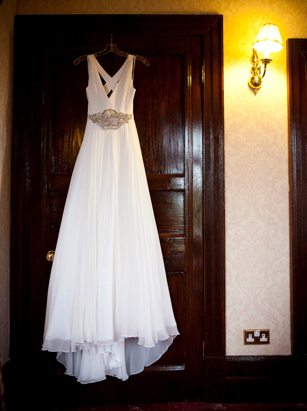 Bridal Gown on Hanger