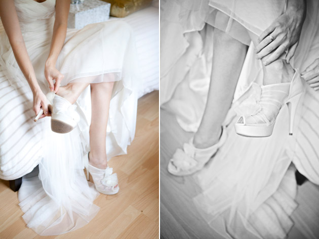 Bridal Shoes by Vera Wang