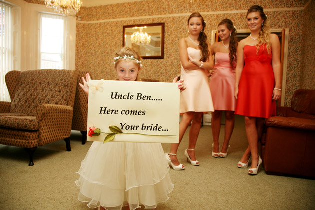 'Here Comes the Bride' Sign