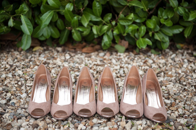 Beige Bridesmaids Shoes