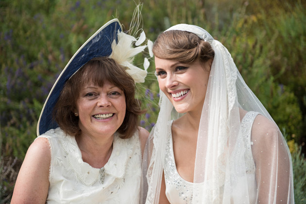 Bride with her Mum