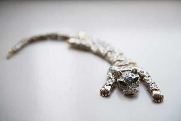 Bridal Bracelet in Shape of Panther