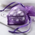Mini Organza Bag with Heart Frame