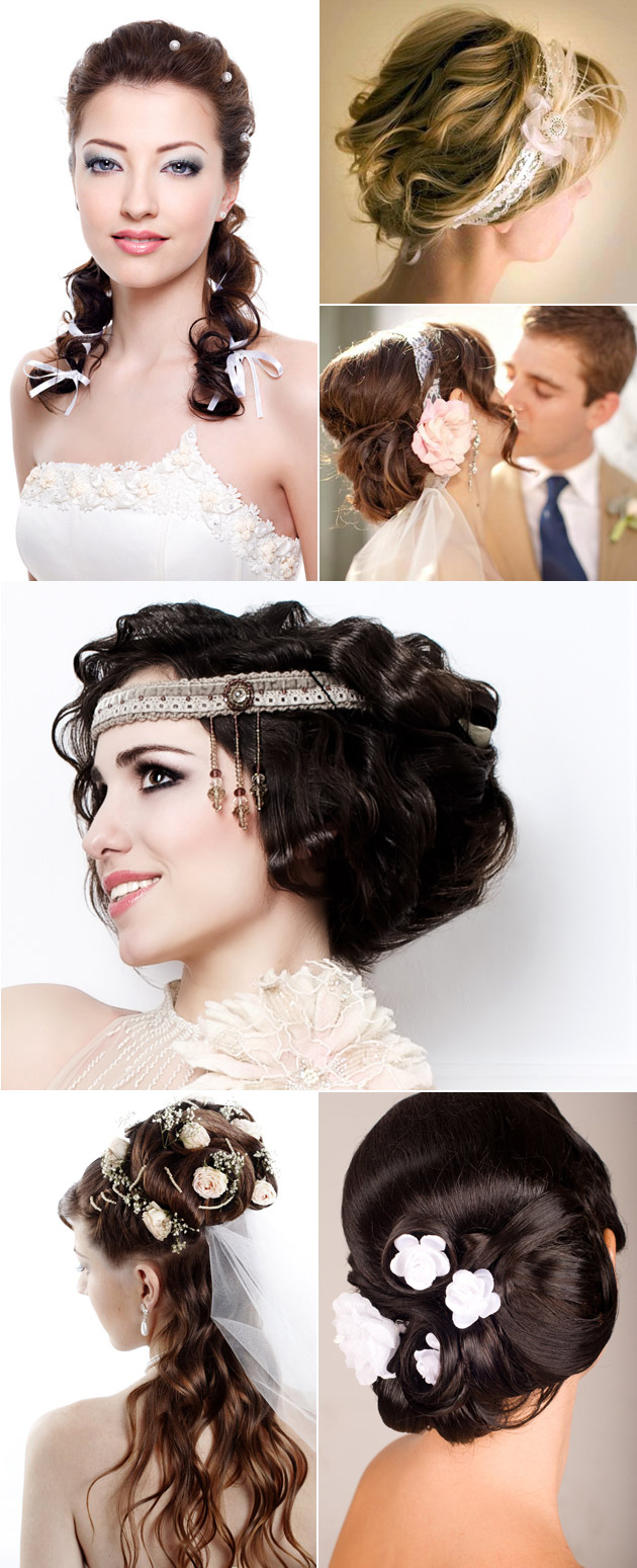 Wedding Bridal Hair Styles With Accessories