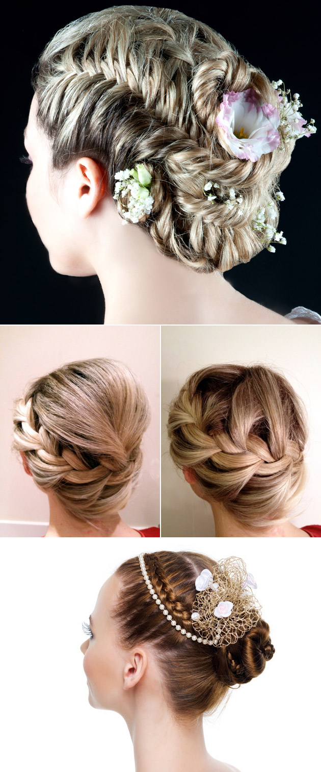 Bridal Hair Braid and Plait Styles