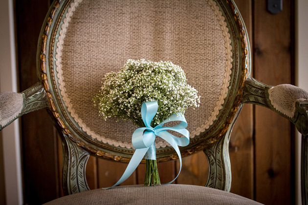 Bridesmaid Baby's Breath Bouquet