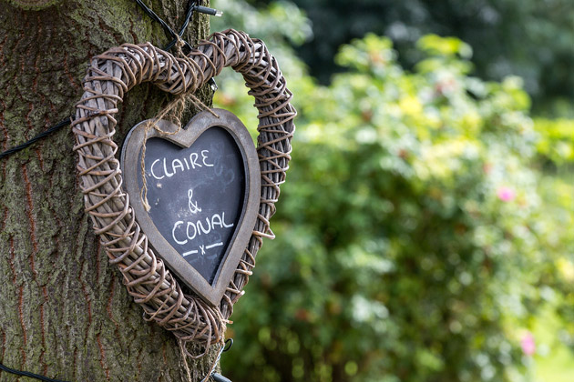 Claire & Conal Tree Heart
