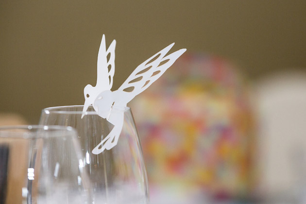 Bird Glass Decoration