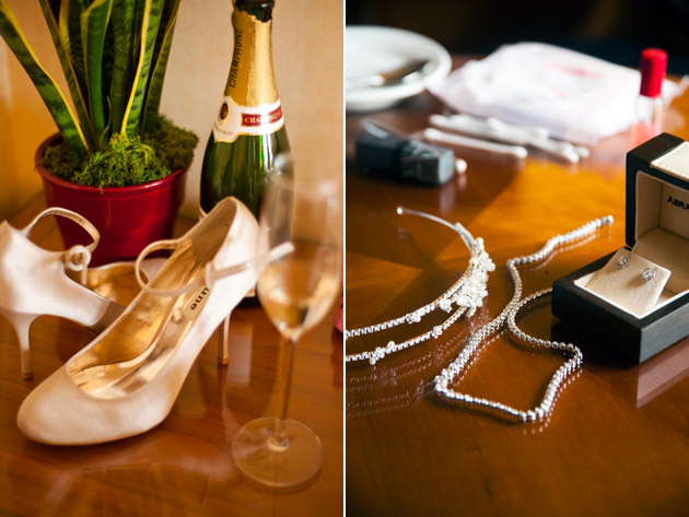 Bridal Shoes and Jewellery