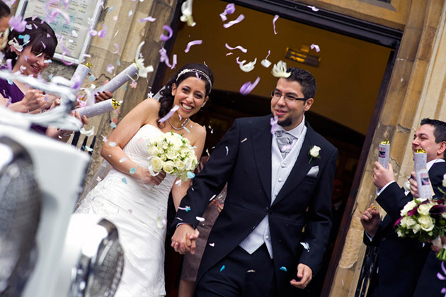 Newlyweds Confetti Shower