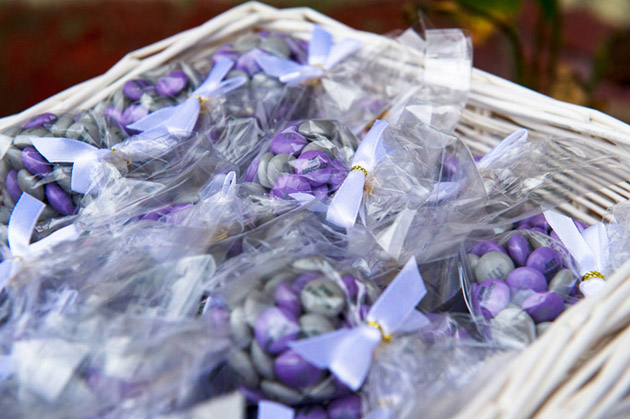 Wedding Favours Just Married M&Ms