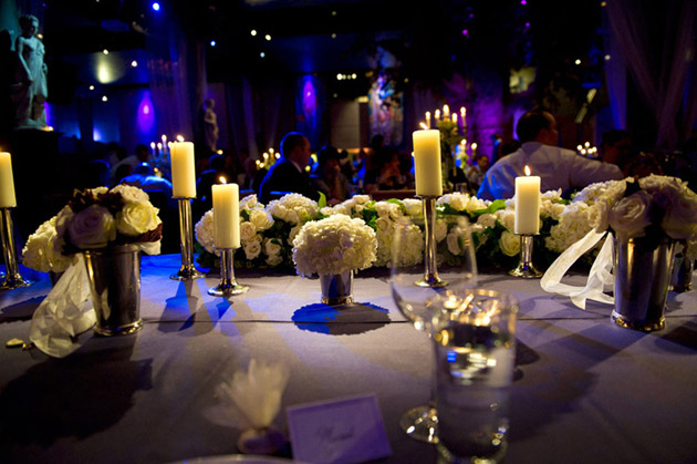 Candle Top Table Decorations