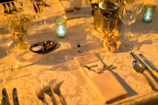 Bride's Table Setting