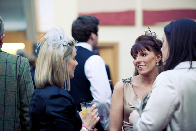 Guests at the Reception