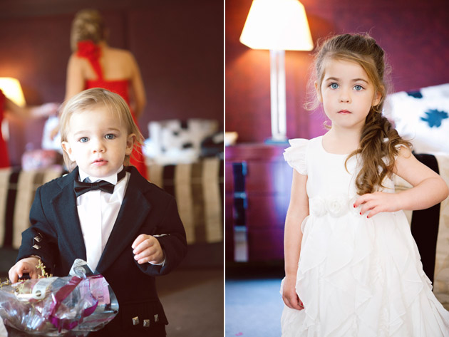 Cute Flower Girl and Pageboy